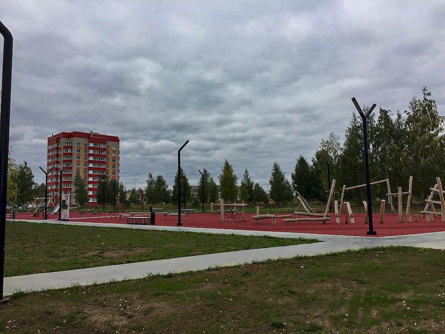 Открытие экстрим-парка в Лаишево