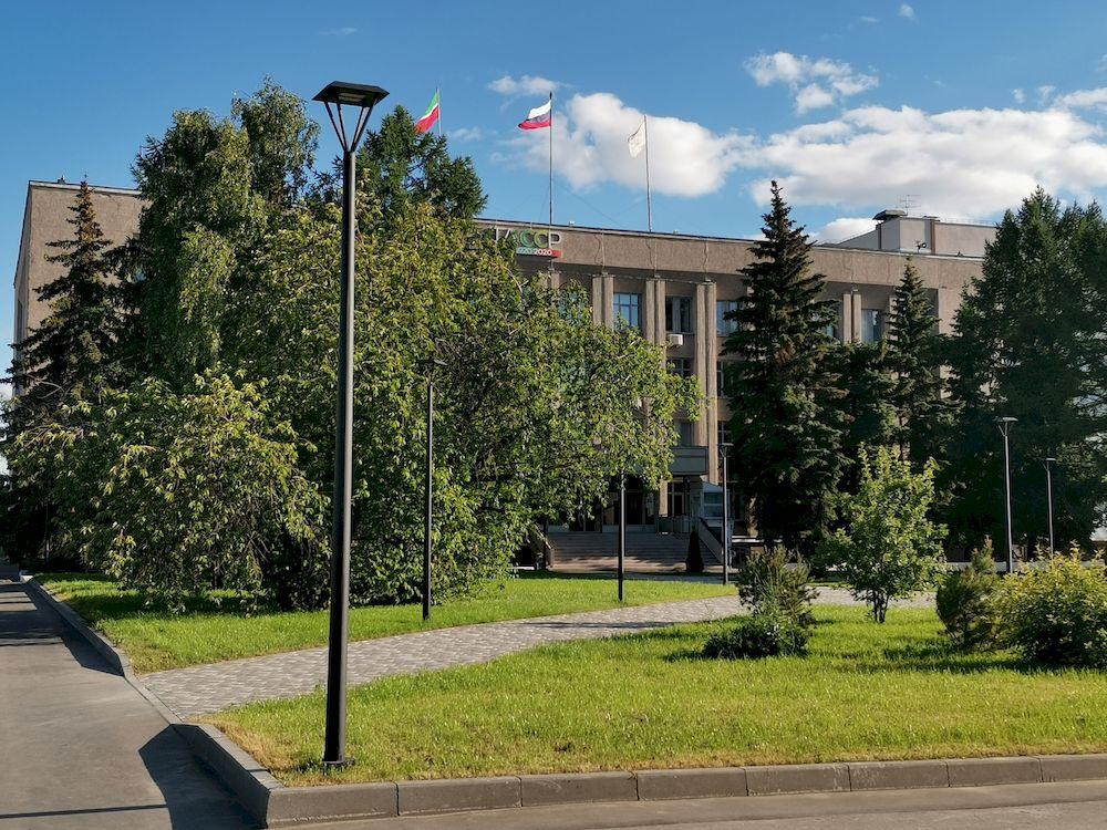 Здание администрации Советского района г. Казани